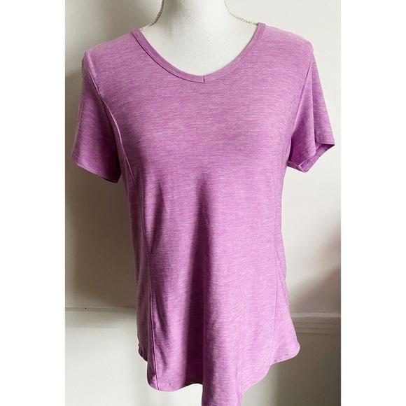 Duluth • Light Purple V Neck Tee Shirt